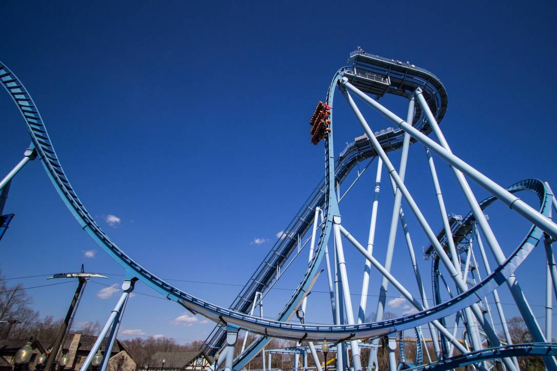 What is the best amusement park in the united states for Busch gardens williamsburg griffon